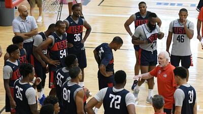 En fotos: así fue el primer día del minicamp del Team USA de baloncesto en Las Vegas