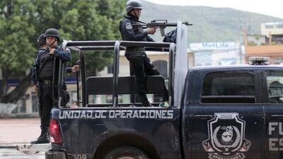 Policías locales en Guerrero, al sur de México.