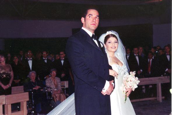 Llegaron al altar en 2000 y tres años después se divorciaron.