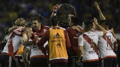 River Plate le pegó a Boca en la Bombonera y se quedó con el Superclásico