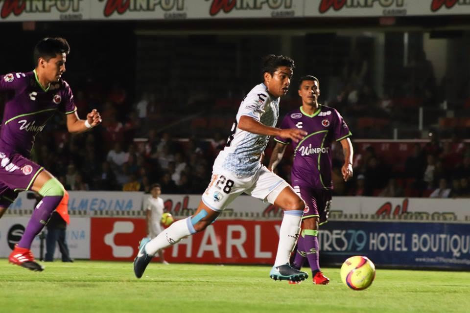 Delantero: Alberto García (Tampico Madero) - un gol y dos remates a gol.