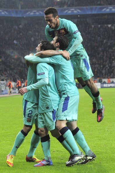Messi jugó un segundo tiempo espectacular y pudo haber marcado más goles.