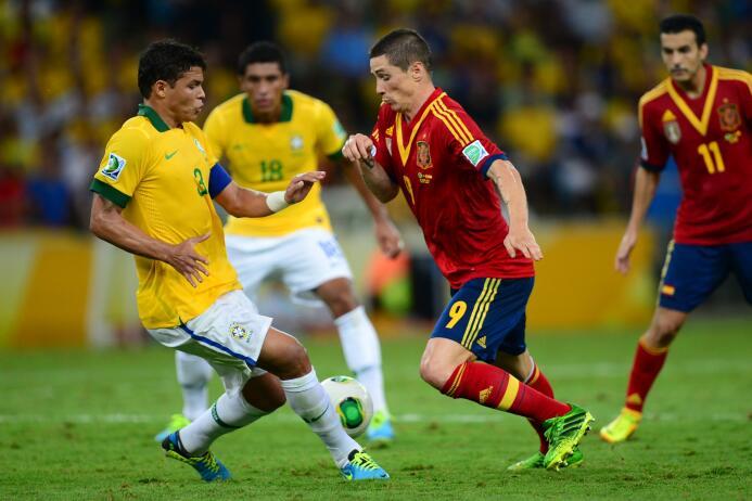 La edición de Brasil 2013 fue la única en la que participaron 4 campeone...