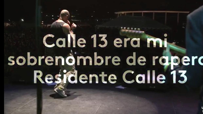 """Residente: """"Calle 13 no siento que haya terminado, sino que empezó otra..."""