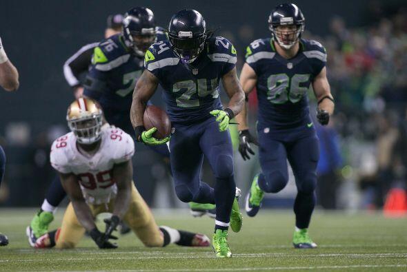 #14 RB Marshawn Lynch, Seattle Seahawks (AP-NFL).