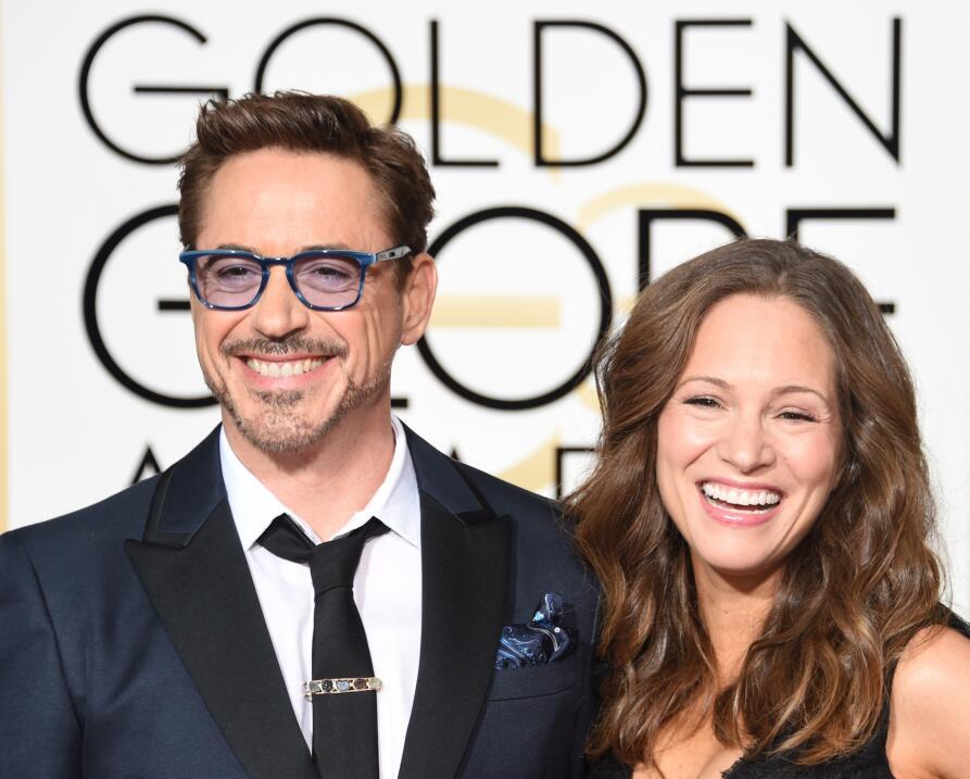 Robert Downey Jr. y  Susan Levin