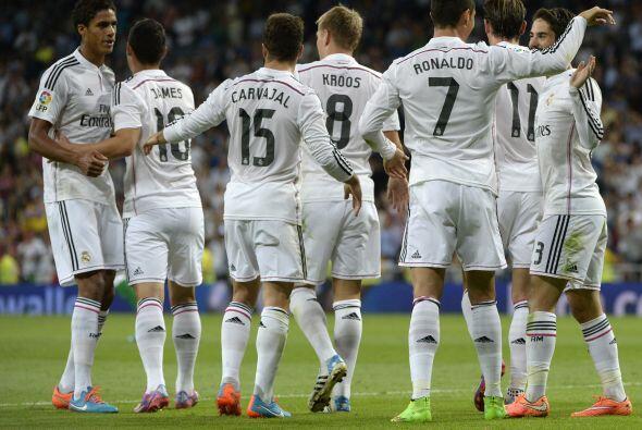 El Madrid ponía en orden las cosas en casa y sus jugadores se veían muy...