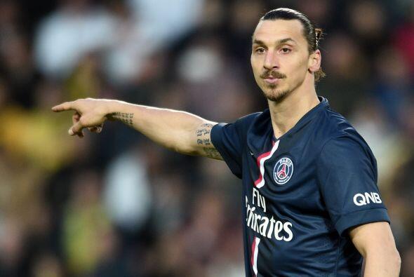 Zlatan Ibrahimovic quedó muy lejos del campeón goleador, ya que solo ano...