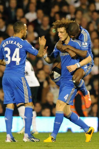 El brasileño David Luiz fue el autor del 1-0 para los visitantes.