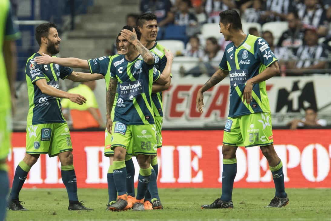Monterrey 1-3 Puebla: lo goles de los Camoteros fueron de Omar Fernández...
