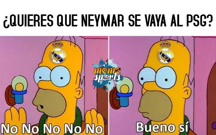 En memes: Neymar se inclina por los millones del PSG 20108240_1947583272...