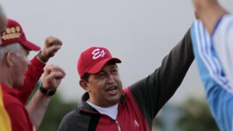 El presidente venezolano Hugo Chávez recibirá quimioterapia en LA Habana...