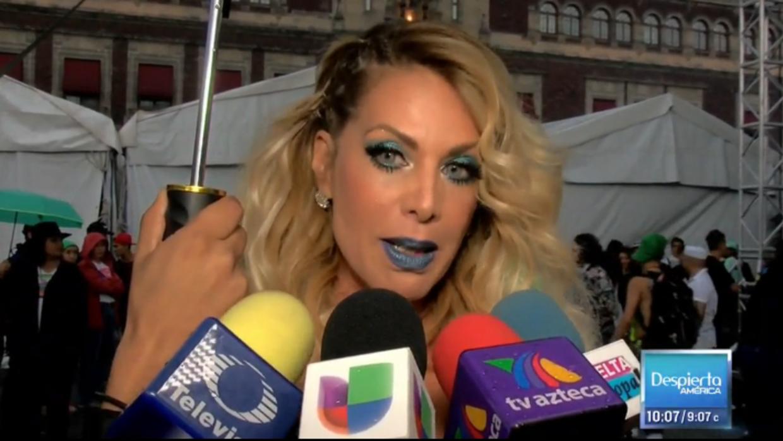 Lorena Herrera le envió un mensaje a quien copia su estilo