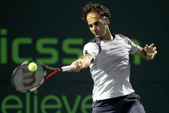 Y que se le esponja el permanente al suizo Roger Federer.
