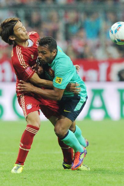 Sin dudas el jugador del partido fue Thiago. El campeón de Europa...
