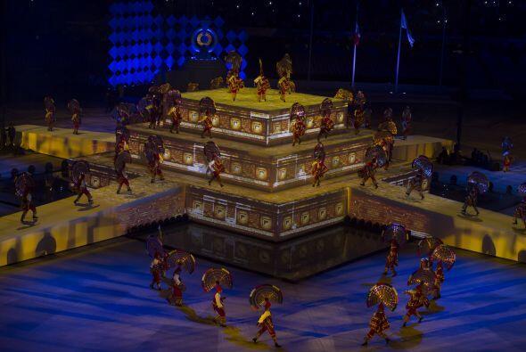 Los Juegos Centroamericanos se inauguraron en la ciudad de Veracruz, Méx...