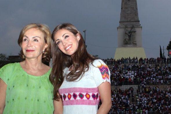 Fue la suegra de Anahí, Leticia Coello de Velasco, quien reveló la fecha...