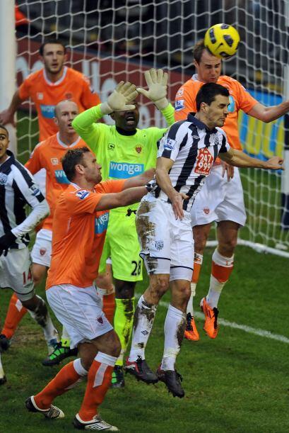 West Bromwich y Blackpool protagonizaron un partidazo que tuvo 5 goles.