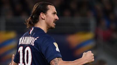 El sueco marcó el único gol que clasificó al PSG a semifinales de la Copa.