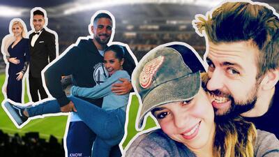 Shakira un defensa y Becky G un delantero: estas famosas podrían armar un equipo de fútbol con sus parejas