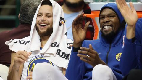 """¡Que alguien llame a Bron!"""", exclamó Kevin Durant."""