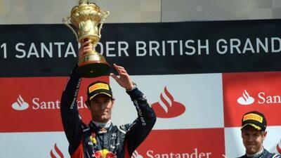 Webber se colocó en segundo lugar del campeonato tras su victoria en Sil...