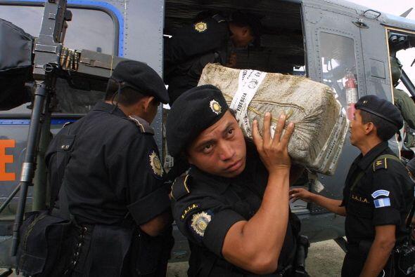 """""""Antes (la droga) entraba por el Caribe (o) iba en avión a (la península..."""