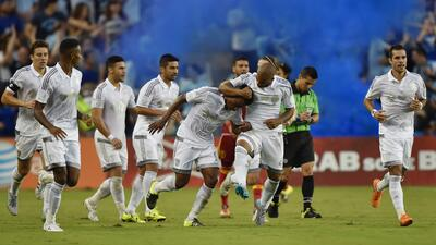 Sporting Kansas City celebra su paso a la final de la US Open Cup