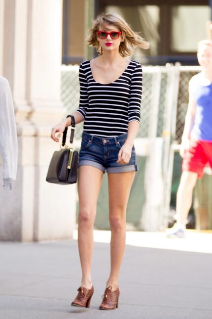 Estilo de Taylor Swift para regresar a clases