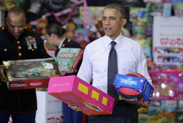 Entre los juguetes se podía observar que había una gran va...