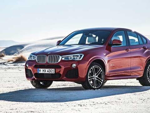 El BMW X4 tiene una longitud exterior de 4,67 metros, lo que supone un a...