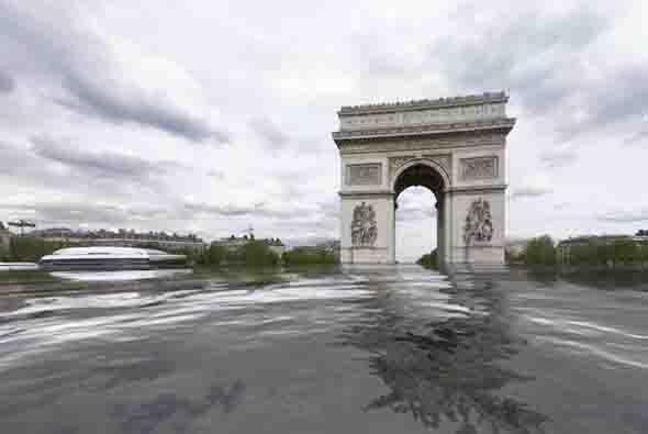 Uno de los monumentos más famosos del mundo: El Arco del Triunfo. Según...