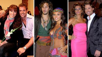 Estos eran los romances más famosos hace 10 años