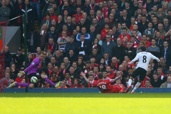Fueron los visitantes quienes colocaron el primer gol del encuentro, gra...
