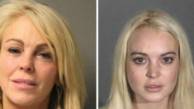 Dina Lohan, madre de la actriz con problemas Lindsay Lohan, fue detenida...