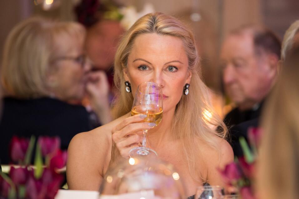 Pamela Anderson en Paris