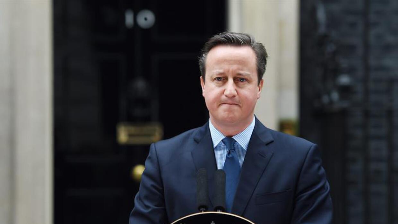 El anuncio hecho por David Cameron,