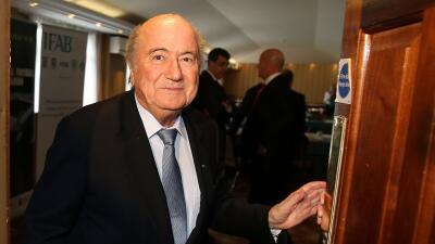 Joseph Blatter declaró ante la FIFA