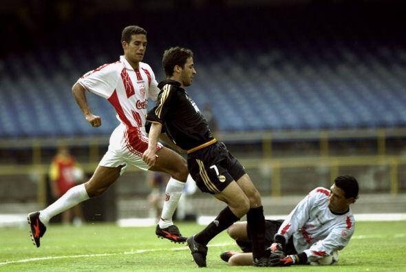 Por parte del Madrid, marcó Raúl y lo empató Agust&...