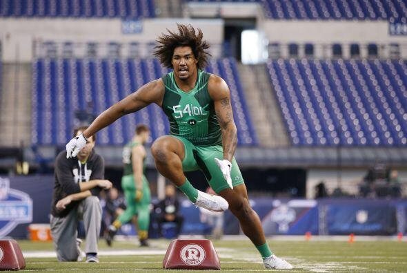 Selección 2 Tennessee Titans: DE Leonard Williams, USC.