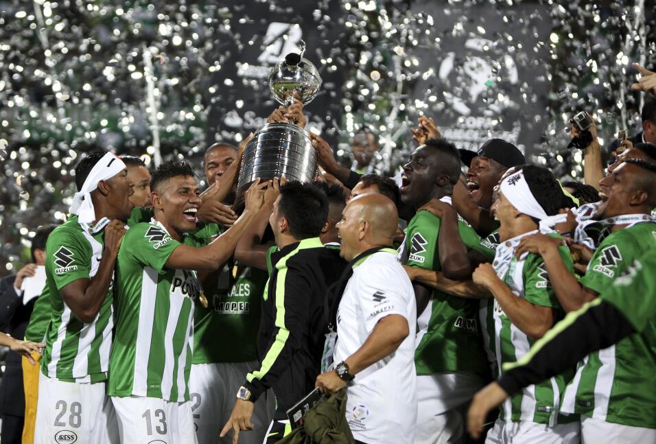 1. Atlético Nacional (Colombia - Conmebol) / 383 puntos