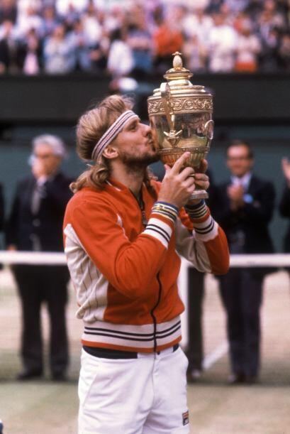 Bjorn Borg brilló en el deporte blanco como pocos por sus 63 títulos ind...