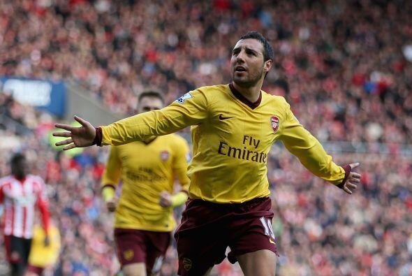 En el duelo ante el Sunderland, Cazorla hizo el único gol del partido, p...