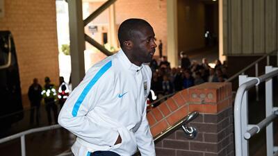 Yaya Touré se recuperó de la lesión que le impidió jugar la ida.