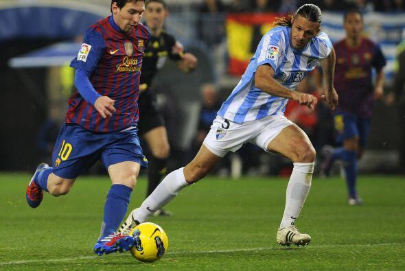 Pero eso no fue suficiente para Messi.