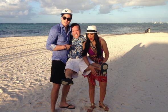El Gordo y la Flaca está esta semana en República Dominicana.