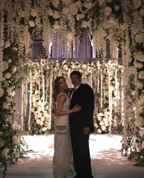 La pareja acudió a la boda de Gelena Solano en Nueva York en mayo del 20...