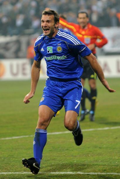 Andrei Schevchenko y compañía marcaron goles al por mayor.