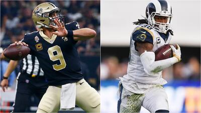 NFL Fantasy | Perfect Squad: Brees y Gurley para encarar la Semana 2