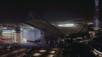 Qatar estrena el primer estadio refrigerado al aire libre del mundo